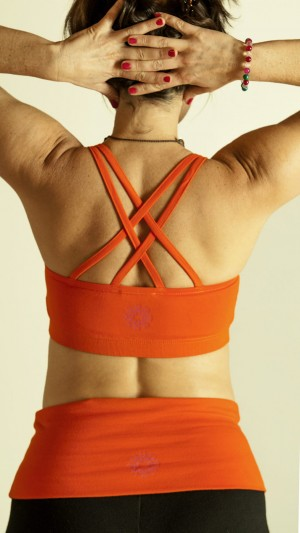 DRISHTI BRA ORANGE