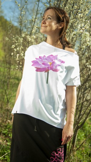 T-SHIRT ASANA SUMMER LOTOS